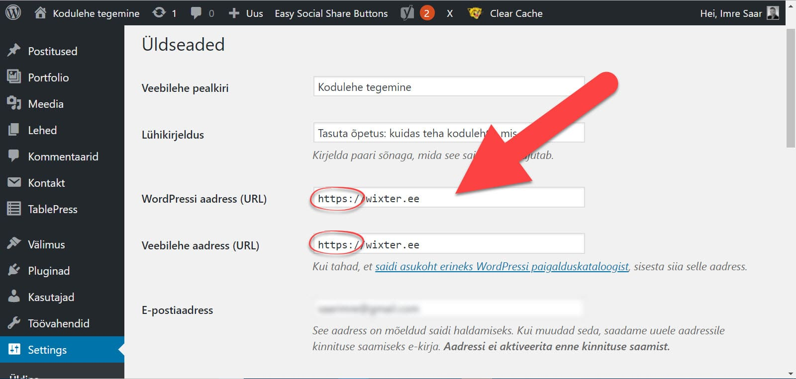 SSL-sertifikaadi-paigaldamine WordPressis