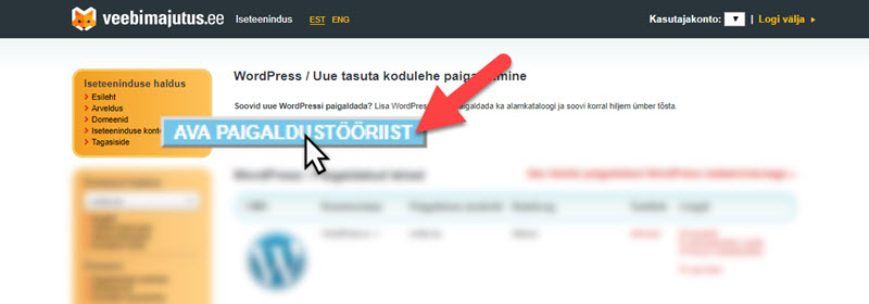 WordPressi paigaldamine (Elkdata)_2