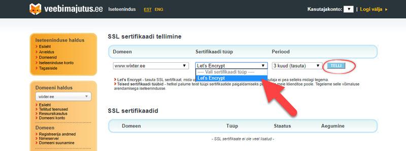 HTTPS paigaldamine 2
