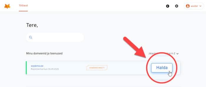 Wordpressi paigaldamine